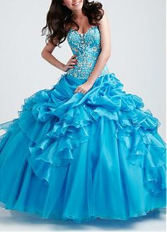 Stunning Ball Gown Sweetheart Prom Dress