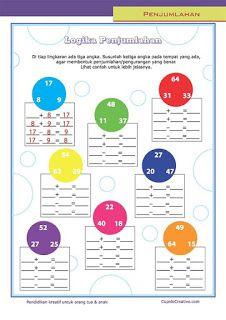belajar matematika untuk anak kelas 3 SD, sifat penjumlahan & pengurangan, logika sederhana