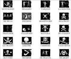 Image - drapeaux se pirates - Skyrock.com Pirate Art, Pirate Life, Pirate Flags, Pirate Woman, Pirate Symbols, Le Kraken, Famous Pirates, Golden Age Of Piracy, Bateau Pirate