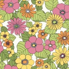 Escape to the tropics every day with the fun, island-themed Capriana Floral Burst Wallpaper from Eco Wallpaper. The cheerful flowers make a chic decor statement, and the wallpaper is washable and strippable for easy installation and removal. Embossed Wallpaper, Wallpaper Panels, Geometric Wallpaper, Wallpaper Samples, Wallpaper Online, Wallpaper Roll, Flowery Wallpaper, Orange Wallpaper, Retro Wallpaper