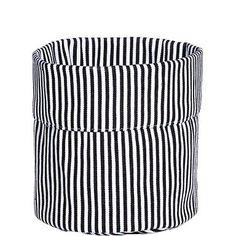 BUTLERS BLACK & WHITE »Stoffcontainer Streifen«