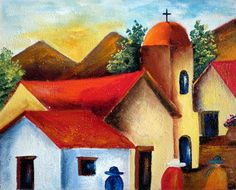 pintura al oleo moderna abstracto