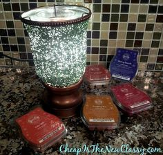 The #Scentsy fall scents are in + check out the Sea Foam Lamp Shade #Candle Warmer #sponsored  http://cheapisthenewclassy.com/2014/10/scentsy-fall-scents.html