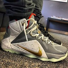 iD the LeBron 12. (via 23 Awesome NIKEiD LeBron 12 Designs Shared on  Instagram 087ad8f7dc