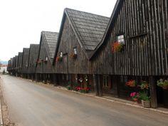 Domy tkaczy w Chełmsku Śląskim