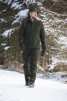 Jagdbekleidung aus hochwertigem Loden Military Jacket, Bomber Jacket, Winter, Fashion, Hound Dog, Jackets, Clothing, Winter Time, Moda