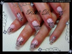 It`s all about nails: Stamped Flowers- Lace http://radi-d.blogspot.com/2014/04/stamped-flowers-lace.html