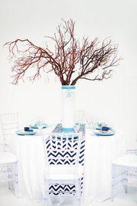 Seaside #Wedding Centerpiece