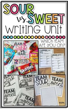 An Opinion Writing Activity! Teaching With Crayons and Curls: Team Sour VS. An Opinion Writing Activity! Opinion Writing Prompts, Persuasive Writing, Writing Lessons, Writing Rubrics, Paragraph Writing, Writing Assignments, Writing Process, Writing Skills, Fourth Grade Writing