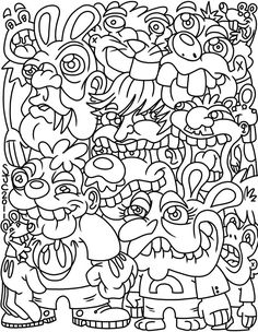 Trolls Adult Coloring Book Awesome American Hippie Art Coloring Pages Fantasy forest Trolls Truck Coloring Pages, Coloring Pages To Print, Animal Coloring Pages, Coloring Book Pages, Printable Coloring Pages, Coloring Pages For Kids, Kids Coloring, Coloring Sheets, Hello Kitty Coloring