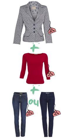 Spencer + blusa + calca