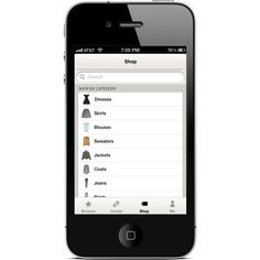 Polyvore iPhone App ❤ liked on Polyvore