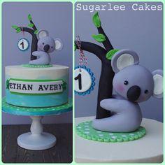 Koala bear cake