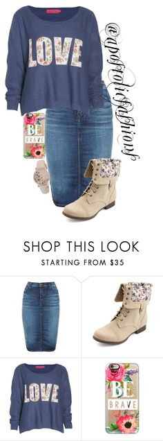 """""""Apostolic Fashions #1232"""" by apostolicfashions ❤ liked on Polyvore featuring Diesel, Charlotte Russe, Boohoo, Casetify and Radley"""