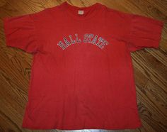 Vintage Ball State Cardinals Champion label T-Shirt Adult X-Large XL #Champion #GraphicTee