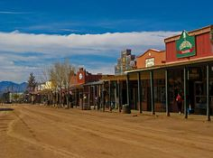 Tombstone, Arizona. Wasn't much there but I loved it so much. One of my favorite places.