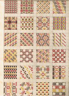 (Probably) Latvian knitting patterns