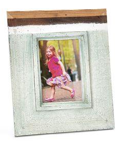 DIY inspiration-Gradient Gray Distressed Wood Frame