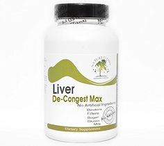 Liver DeCongest Max  90 Capsules  No Additives  Naturetition Supplements *** Continue to the product at the image link.