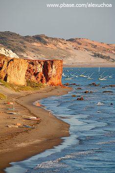 Praia de Peroba, Icapuí, Brasilien. Den richtigen Begleiter für eure Reise findet ihr bei uns: https://www.profibag.de/reisegepaeck/