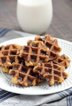 Waffel Cookies, Cookie Recipes, Snack Recipes, Snacks, Breakfast Recipes, Peanut Recipes, Brunch Recipes, Drink Recipes, Dessert Recipes