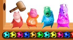 Learn Colors Numbers with PIG SING Funny Video for Kids WOODEN FACE HAMMER XYLOPHONE Finger Family https://www.youtube.com/channel/UC76YOQIJa6Gej0_FuhRQxJg