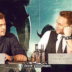 i love you man.