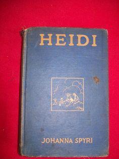 HEIDI AUTHOR JOHANNA SPYRI CLASSIC MUCH LOVED STORY PRE-1932 PRINTING