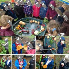 Following the interest in the huge pumpkin, we watched videos about Harvest. The children were interested in the different vegetables and how they grow so we provided lots and had fun exploring! #eyfs #earlyyears #aceearlyyears #earlyyearsscience #harvest2015