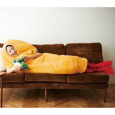 エビフライになると、普通の日もおもしろい。 YOU+MORE! 着るエビフライ寝袋