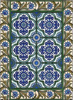 Amazon.com: BellaBella by the sea ~~~'s review of Dover Publications-Decorative Tile Designs...