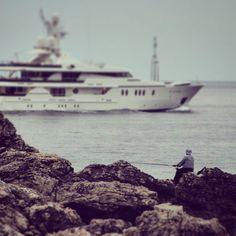 #fisherman #yacht #sea #croatia #dubrovnik #rocks #greatview by michal.wasiluk | dubrovnik-croatia.com