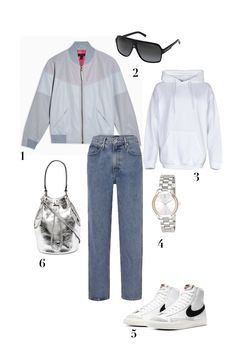 Check out these bomber jacket outfit ideas to answer to your question on how to wear a bomber and the best bomber jackets brands for women with the most coveted styles you need to incorporate in your trendy outfits. #streetstyle #outerwear #outfits #satinbomberjacket #bluebomberjacket #womenbomberjacket #falloutfits #fallfashion #style #bucketbag #casualstyle