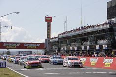 The great race at Bathurst, NSW.