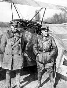 Lothar und Manfred von Richthofen