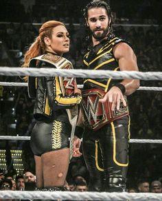 Wwe Seth Rollins, Seth Freakin Rollins, Wrestling Superstars, Wrestling Wwe, Becky Lynch, Becky Wwe, Wwe Couples, Wwe Pictures, Catch