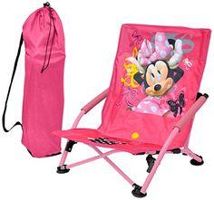 Disney Minnie Mouse Folding Lounge Chair
