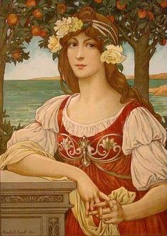 The Athenaeum - Autumn (Elisabeth Sonrel - No dates listed)