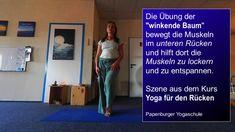 Yoga Momente: Winkende Hüfte bei Spannungen im unteren Rücken und ISG Pranayama, Parachute Pants, Lower Backs, Art Of Living