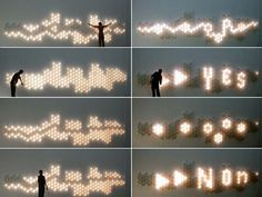 Image result for interactive digital wall reacts to motion