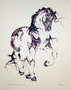 My favorite artist.  Sarah Lynn Richards
