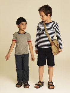 riviera look stripes t. Boy kid fashion style