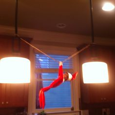 Elf on a shelf Mission Impossible 2