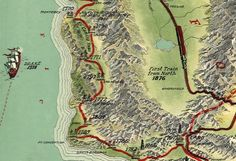 1929 Map Charts Historic Events That Formed Los Angeles: LAist