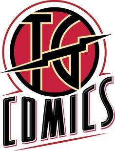 Logo for TG Comics