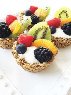 Granola Cups — The Skinny Fork