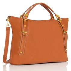 JustFabulous - Tan Caper bag.  I just purchased this for travel.