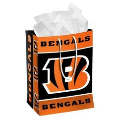Cincinnati Bengals Official NFL Medium Gift Bag