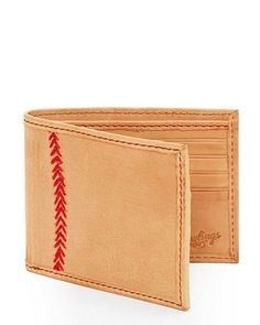 Rawlings - Baseball Stitch - Bi-Fold - Wallet - Luggage and Leather