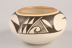 Native american pottery - hole in the bottom